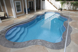 AutoGuard Top Track Pool Cover